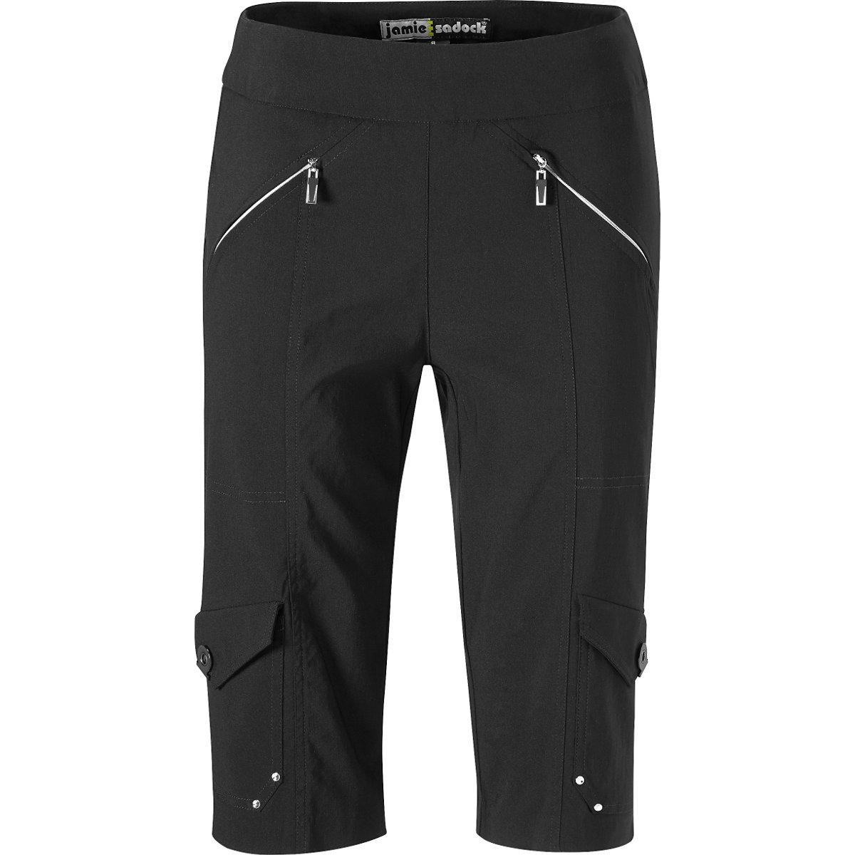 Ladies Black Capri Pants