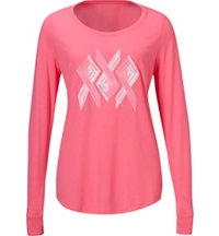 Women's Power In Pink Long Sleeve T-Shirt