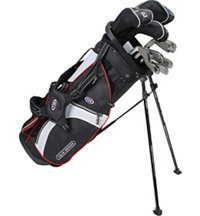 Junior TS51 10 Piece Full Set - Black/White/Red