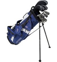 Junior TS54 10 Piece Full Set - Navy/White