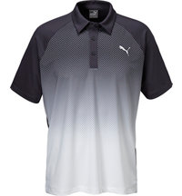 Men's #GOTIME Dot Fade Short Sleeve Polo