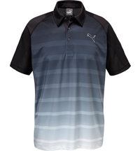 Men's Titan Stripe Short Sleeve Polo