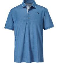 Men's LUX Pattern Short Sleeve Polo