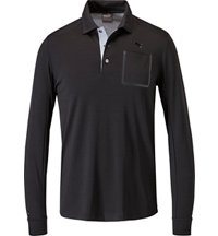 Men's LUX Blend Long Sleeve Polo