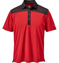 Men's Diamond Block Short Sleeve Polo