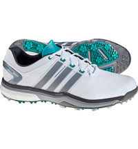 Men's Adipower Boost Golf Shoe - White/Green