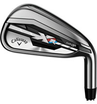 XR 5-PW, SW Iron Set with Graphite Shafts