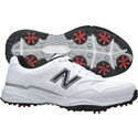 New Balance Men's Golf 1701 Spiked Golf Shoes - White/Black (NBG1701)