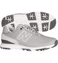 Men's Golf 574 Spiked Golf Shoe - Grey (NBG574)
