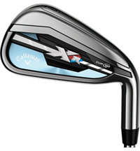Lady XR 5-PW, AW, SW Iron Set with Graphite Shafts