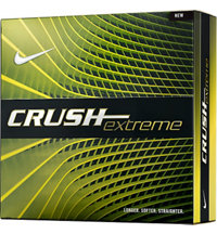 Logo Crush Extreme Golf Balls