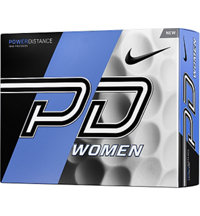 Logo Power Distance Women Golf Balls