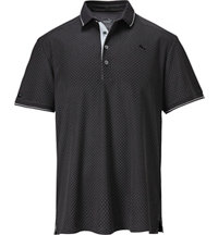 Men's LUX Pattern Short Sleeve Polo