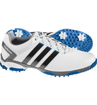 Men's Adipower TR Golf Shoes - White/Blue