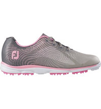 Women's emPower Spikeless Golf Shoes - Grey/Pink (FJ# 98000)