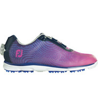 Women's BOA emPower Spikeless Golf Shoes - Navy/Purple (FJ#98004)