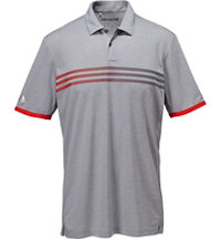Men's climachill Gradient 3-Stripes Short Sleeve Polo