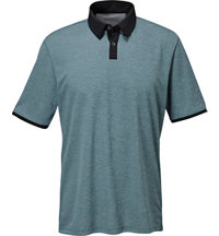 Men's climachill Heather Solid Short Sleeve Polo