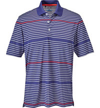 Men's climacool Classic Merch Stripe Short Sleeve Polo