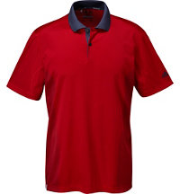 Men's climacool Dot Print Short Sleeve Polo