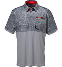Men's climacool Engineered Camo Print Short Sleeve Polo