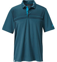 Men's climacool Shiny/Matte Body Short Sleeve Polo