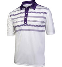 Men's Stagger Short Sleeve Polo