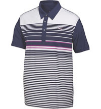 Junior Boys Yarn Dyed Short Sleeve Polo