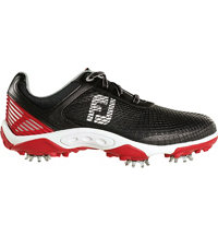 Junior's Hyperflex Golf Shoes - Black/Red (FJ# 45099)