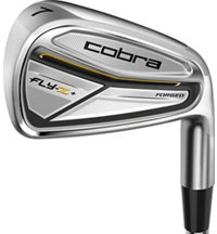 Fly-Z+ Forged 3-PW Iron Set with Steel Shafts