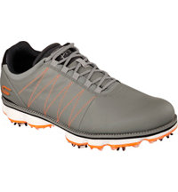 Men's Go Golf Pro Kuchar Golf Shoes - Grey/Orange (#53529)
