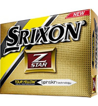 Logo Z-Star Yellow Golf Balls
