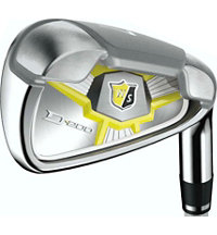 Lady D200 5-PW, AW, SW Iron Set with Graphite Shafts
