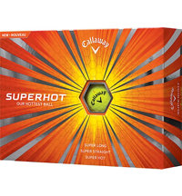 Logo Superhot Yellow Golf Balls