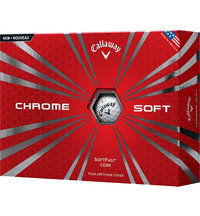 Logo Chrome Soft Golf Balls