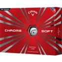 Callaway Logo Chrome Soft Golf Balls