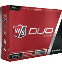 Logo Duo Spin Golf Balls