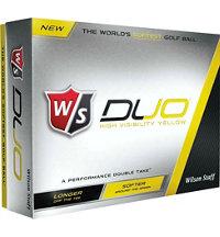 Logo Duo Yellow Golf Balls
