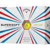 CALLAWAY Personalized Supersoft Yellow Golf Ball