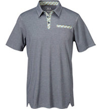 Men's Shield Short Sleeve Polo