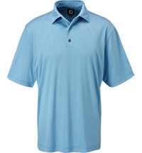 Men's Geometric Jacquard Short Sleeve Polo