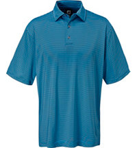 Men's Lisle Feeder Short Sleeve Polo
