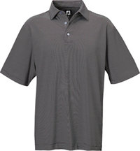 Men's Lisle Micro Stripe Short Sleeve Polo
