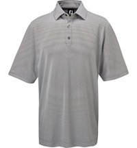 Men's Pindot Jacquard Short Sleeve Polo