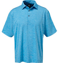 Men's Space Dye Lisle Short Sleeve Polo
