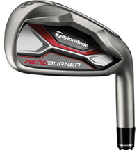 AeroBurner 4-PW, AW Iron Set with Steel Shafts