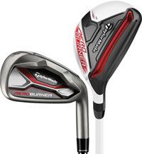 Lady AeroBurner 4H, 5H, 6-PW, SW Combo Iron Set with Graphite Shafts