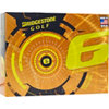 BRIDGESTONE Personalized e6 Yellow Golf Balls