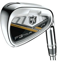 FG Tour V4 4-PW,AW Iron Set with Steel Shafts