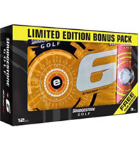 Bridgestone e6 Bonus Pack with RX Sleeve